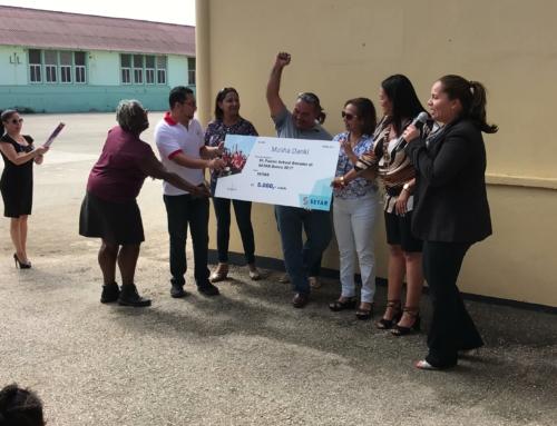 St. Paulus School a Sali Ganador den SETAR Jingle Dance Campaign