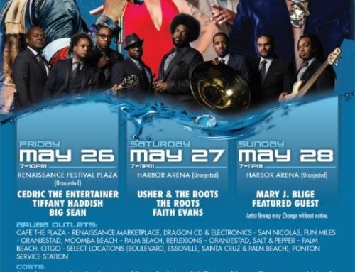 Usher, Faith Evans y Mary J Blidge den Aruba Soul Beach Festival!