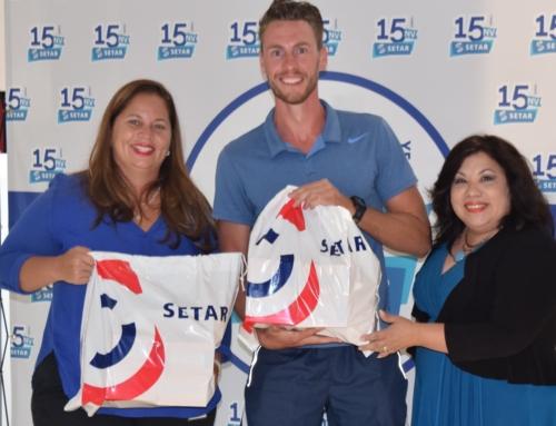 SETAR patrosinador orguyoso di  Ronde van Aruba.