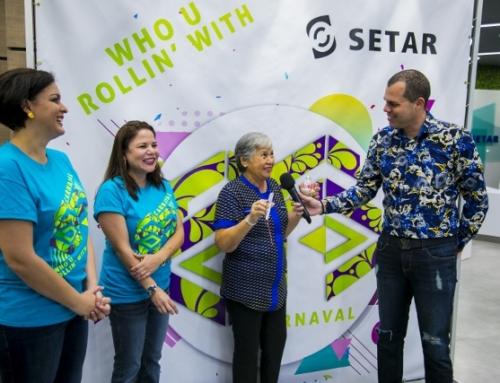 Beatrix Tromp a gana e premio mayor di SETAR su campaña di fin di aña