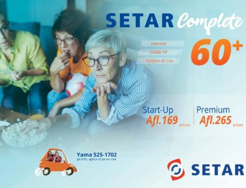 SETAR ta introduci pakete nobo di SETAR Complete 60+ y aumento di minuutnan gratis pa telefon fiho
