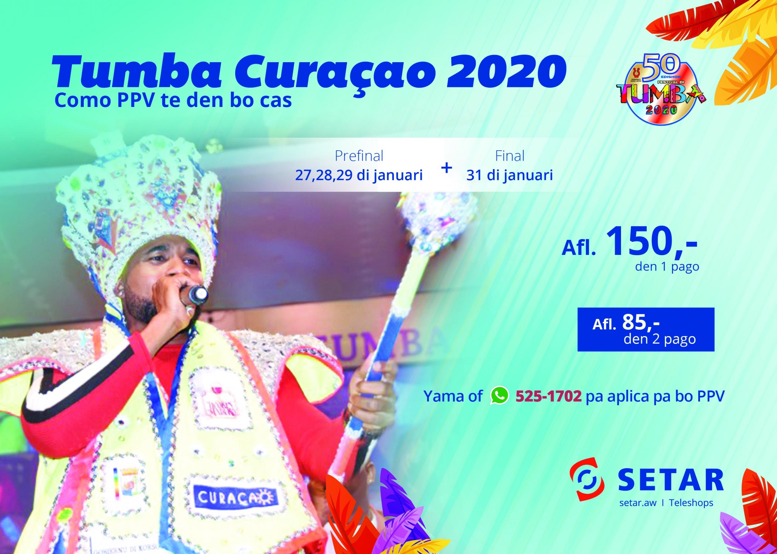 Disfruta di Tumba Corsou 2020 hunto cu SETAR