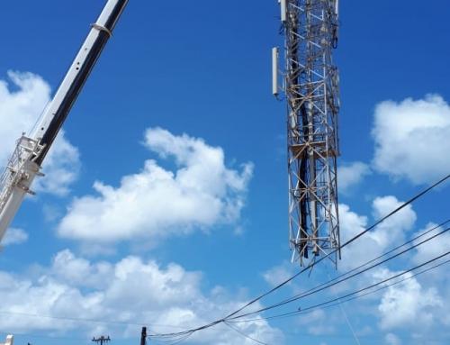 SETAR ta desmantela tower di Telecommunicacion di 30 aña