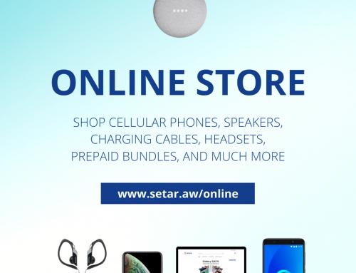 SETAR ta lansa su Online Store